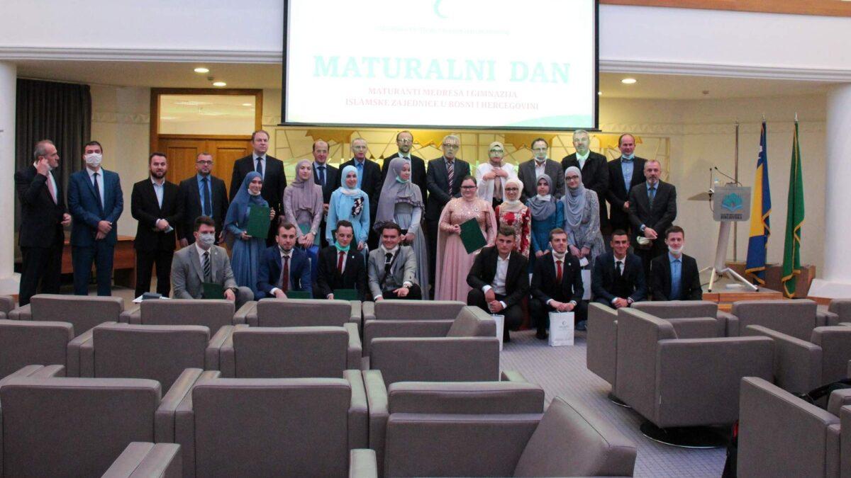 """""""Maturalni dan"""" za učenike medresa i gimnazija Islamske zajednice"""