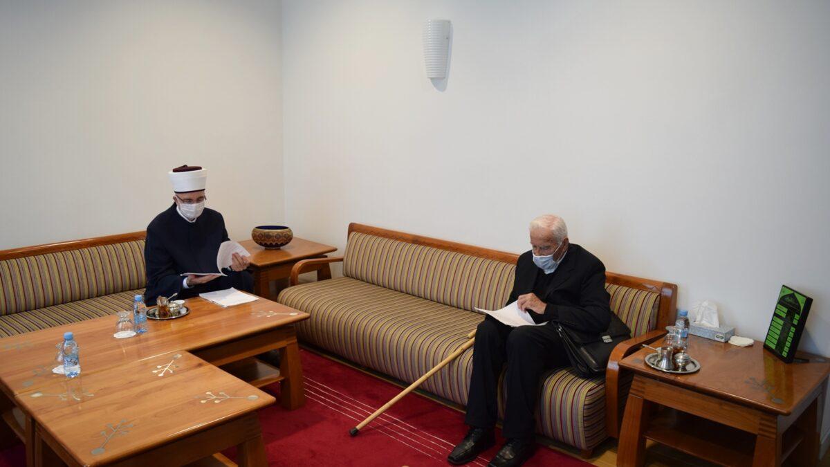 Prof. dr. Omer Nakičević posjetio Muftijstvo tuzlansko