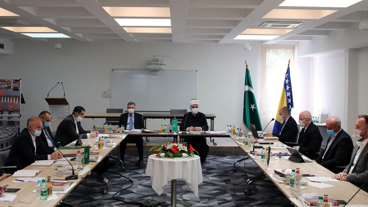 Održana sjednica Vijeća muftija Islamske zajednice u BiH