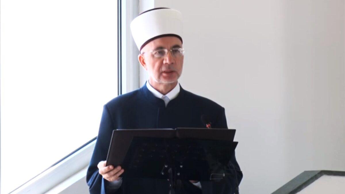Bajramska hutba muftije tuzlanskog Vahid-ef. Fazlovića