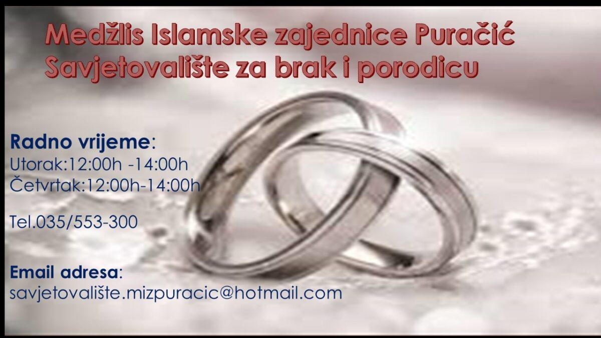 MIZ Puračić: Savjetovalište/Kancelarija za brak i porodicu