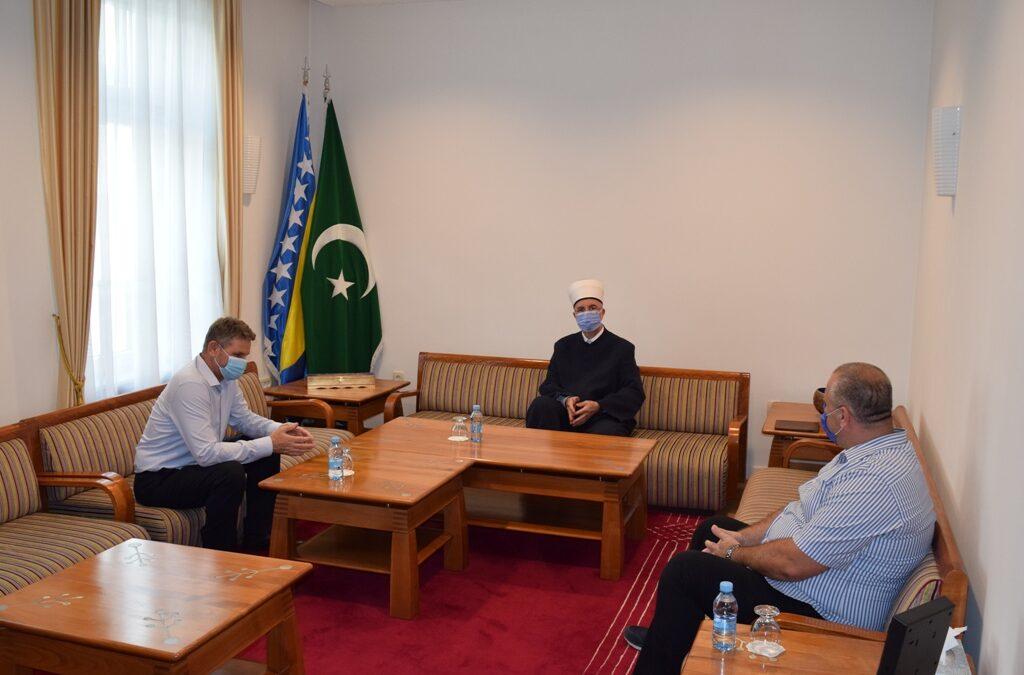 Muftija tuzlanski primio glavnog imama i predsjednika MIZ Gračanica