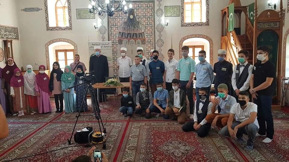 Zapaženi rezultati polaznika Škole Kur'ana Medžlisa IZ Tuzla