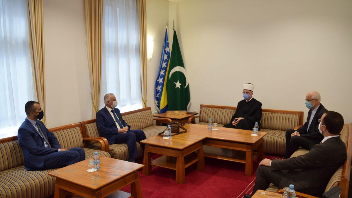 Prijem za novog savjetnika za vjerska pitanja u Ambasadi Republike Turske
