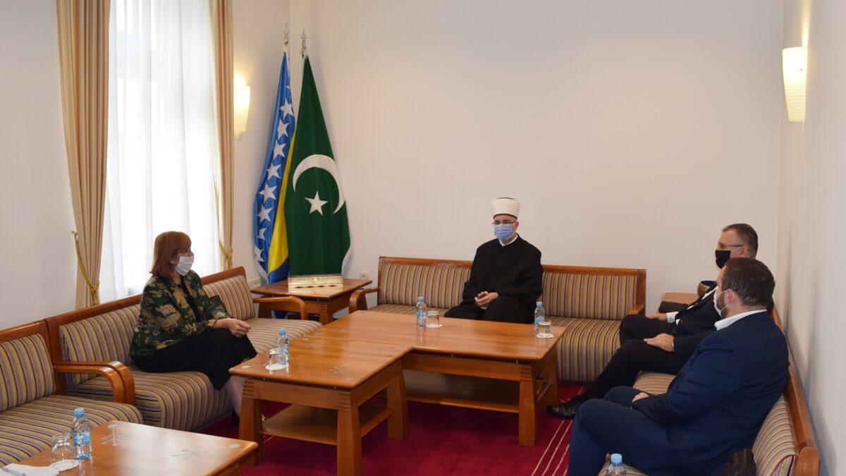 Muftijstvo tuzlansko posjetila rektorica Univerziteta u Tuzli