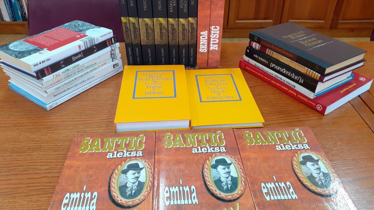 """Novi naslovi lijepe književnosti u Biblioteci """"Behram-beg"""""""