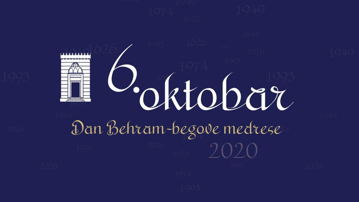 Behram-begova medresa – ustanova islamskog odgoja i obrazovanja