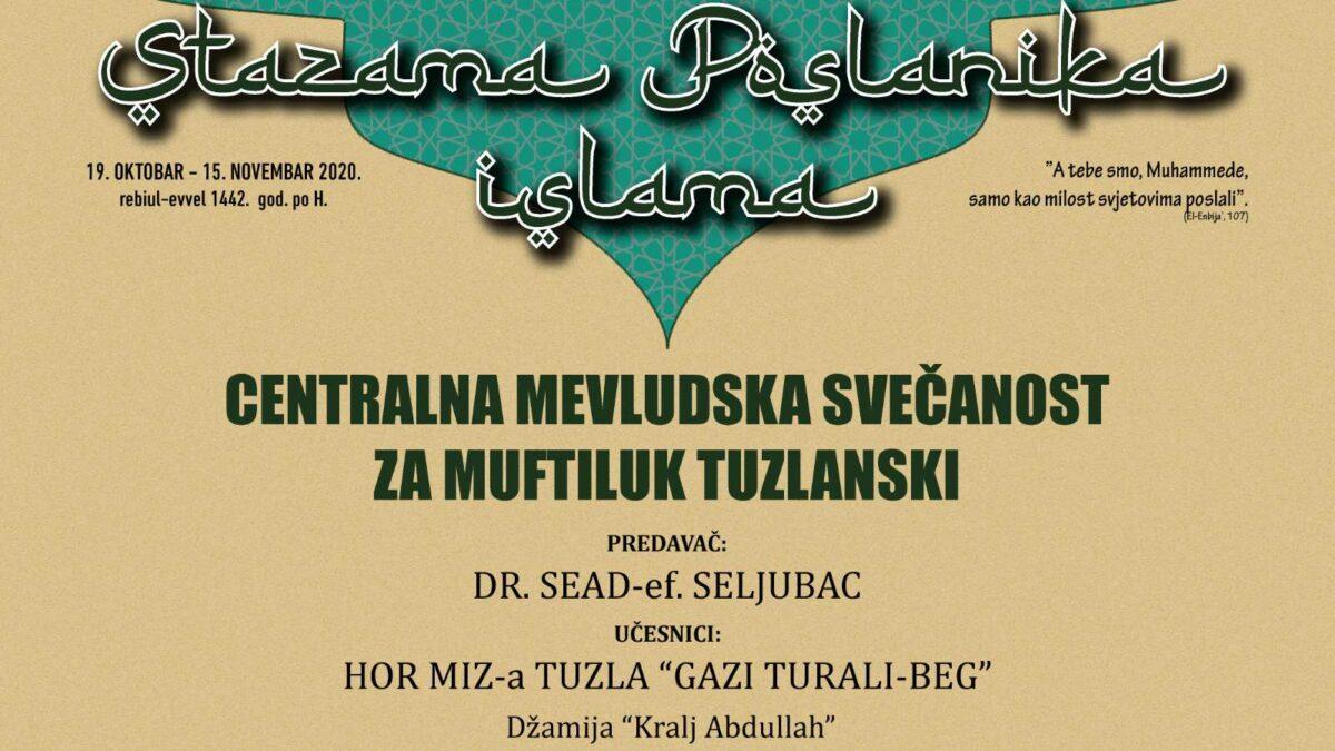 Centralna mevludska svečanost večeras u Tuzli