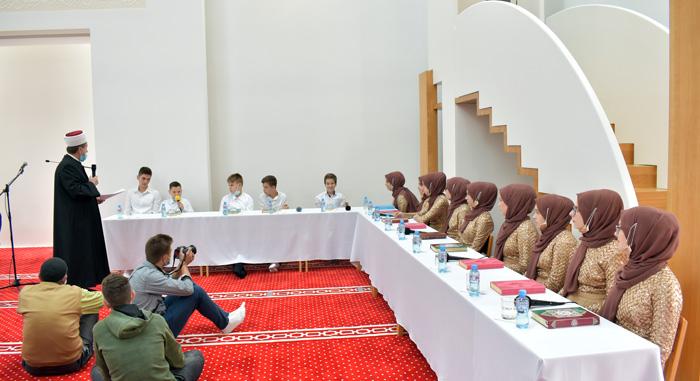 Brčko: Hatmenska svečanost u Bijeloj džamiji