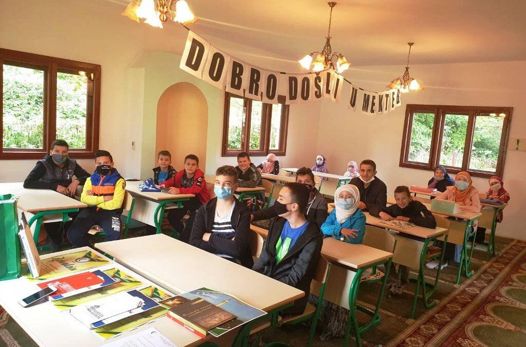 Kalesija: Opremljena mektebska učionica u džematu Hrasno Donje