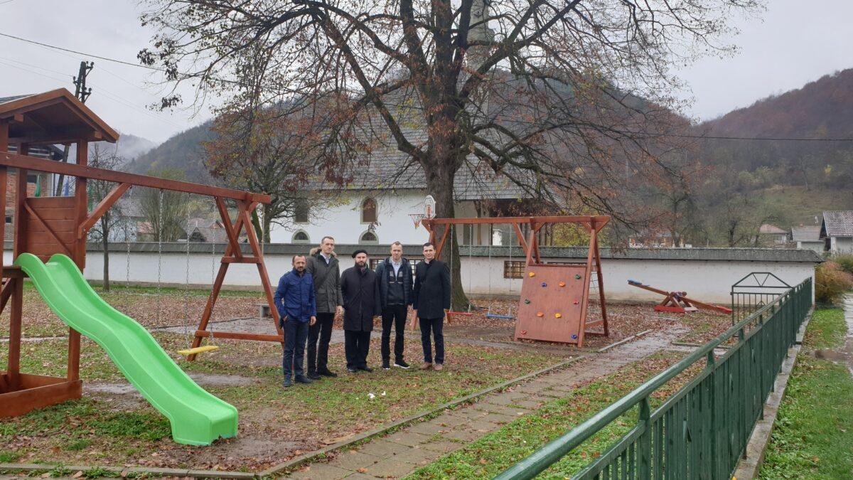 MIZ Tuzla: Uređeno dječije igralište u Novoj Kasabi