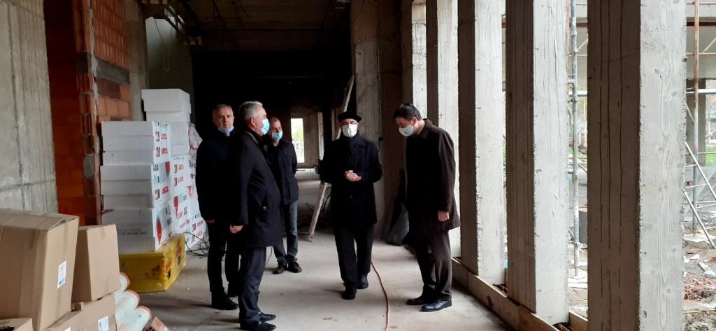 Izgradnja Islamskog centra u Lukavcu teče planiranom dinamikom