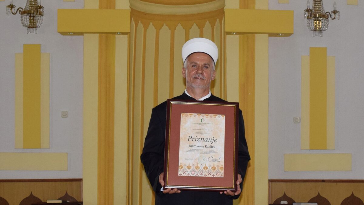 Razgovor s povodom: Salim-ef. Kanlić