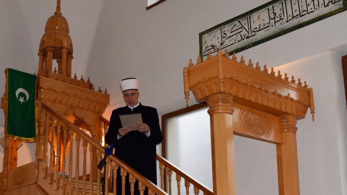 Hutba muftije tuzlanskog Vahid-ef. Fazlovića povodom 150 godina Podrinjske medrese u Zvorniku