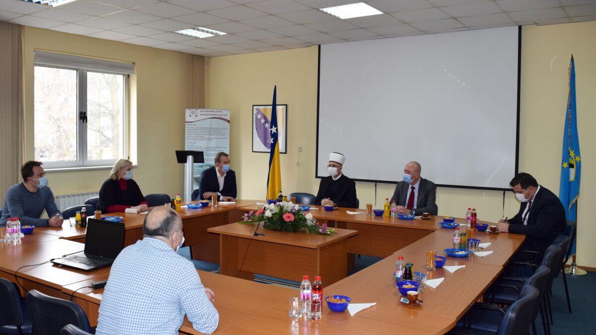 Muftija tuzlanski posjetio Univerzitetski klinički centar Tuzla