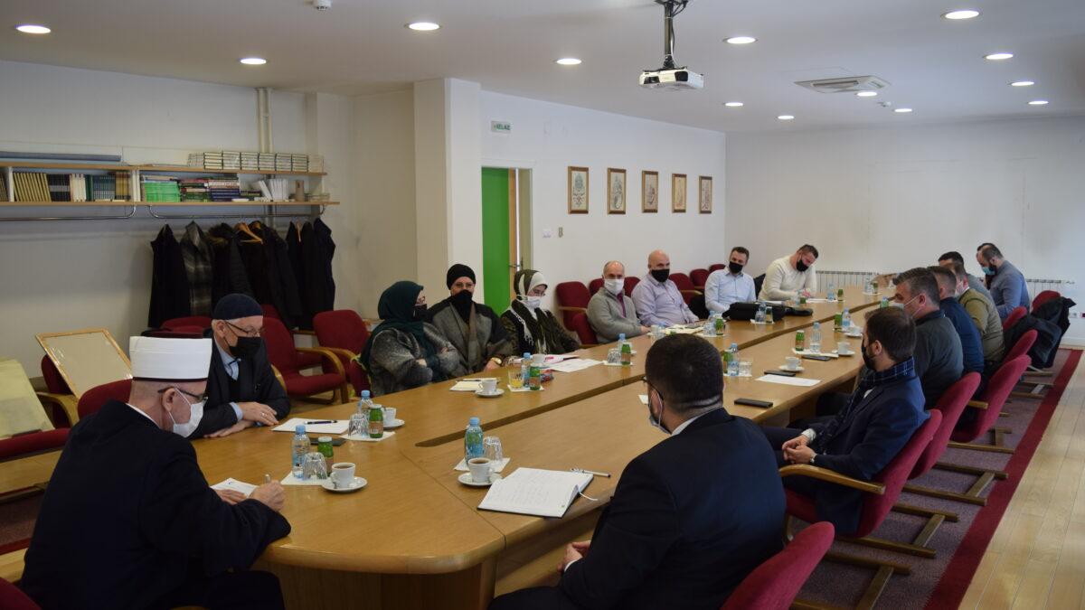 Sastanak Muftije tuzlanskog s predsjednicima aktiva nastavnika islamske vjeronauke
