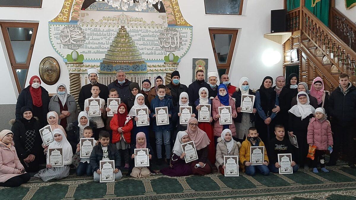 Večer Kur'ana polaznika mektebske nastave u džematu Jelovče Selo (MIZ Gradačac)
