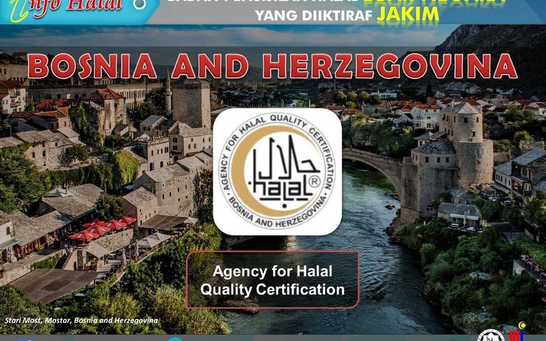 Agencija za certificiranje halal kvalitete na listi odobrenih certifikacijskih tijela u Maleziji