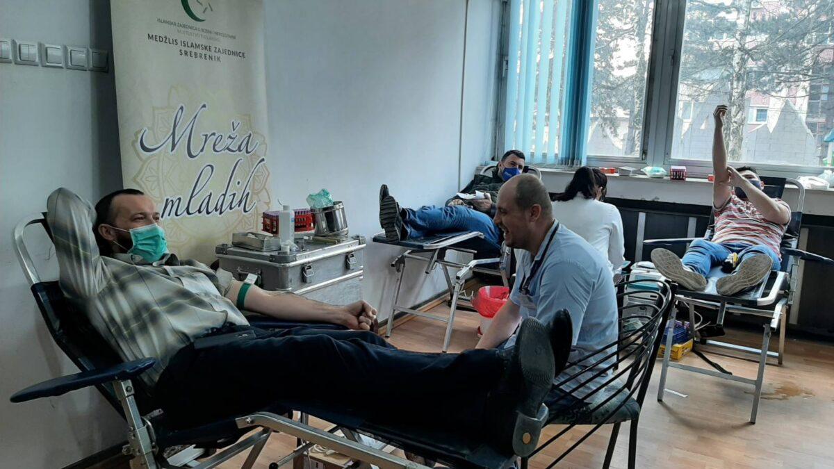 Akcija dobrovoljnog darivanja krvi u Srebreniku