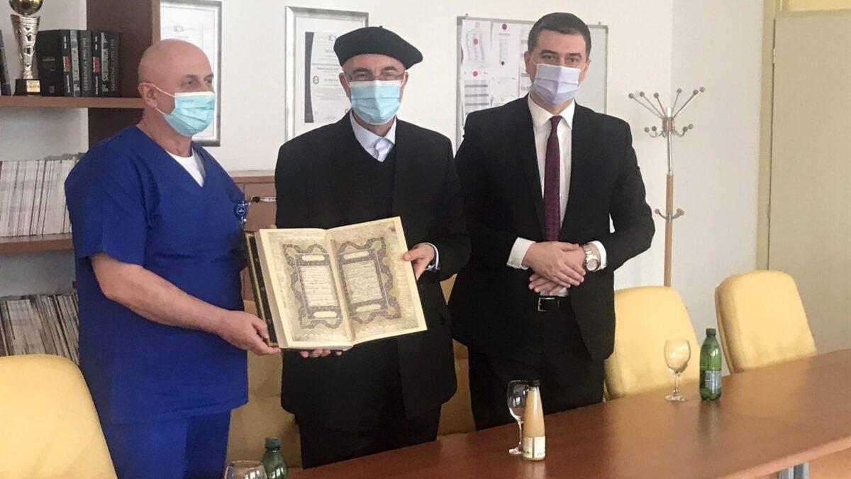 Muftija Fazlović posjetio Medical Institute Bayer u Tuzli