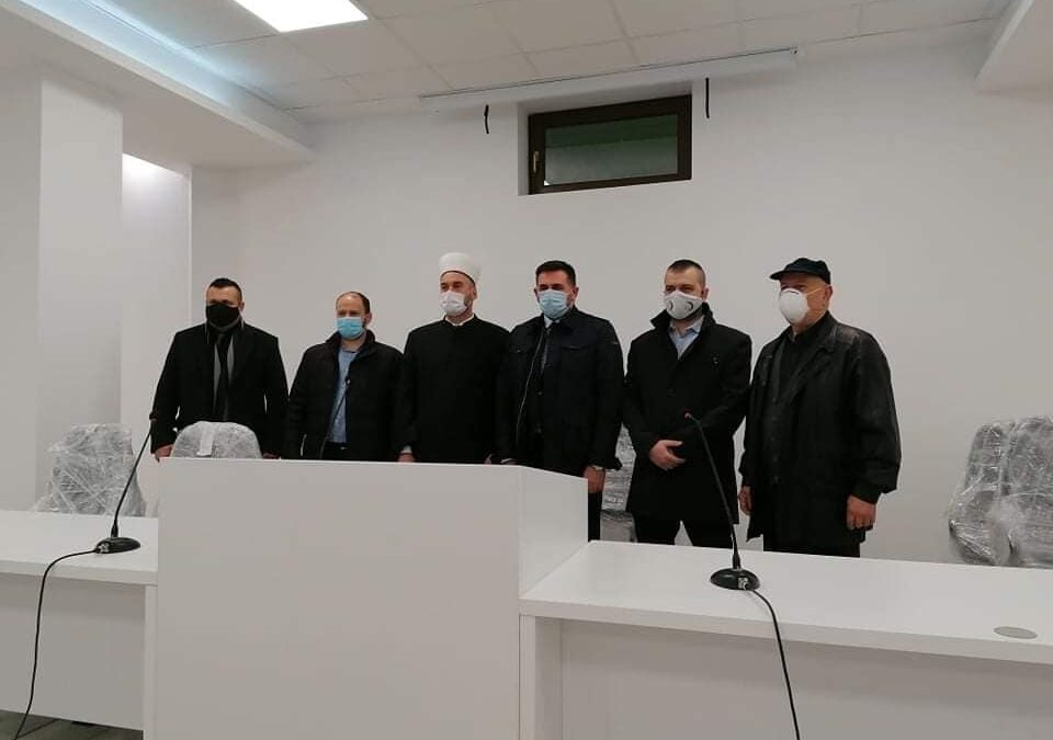 Ministar Ramić posjetio Medžlis Islamske Zajednice Odžak