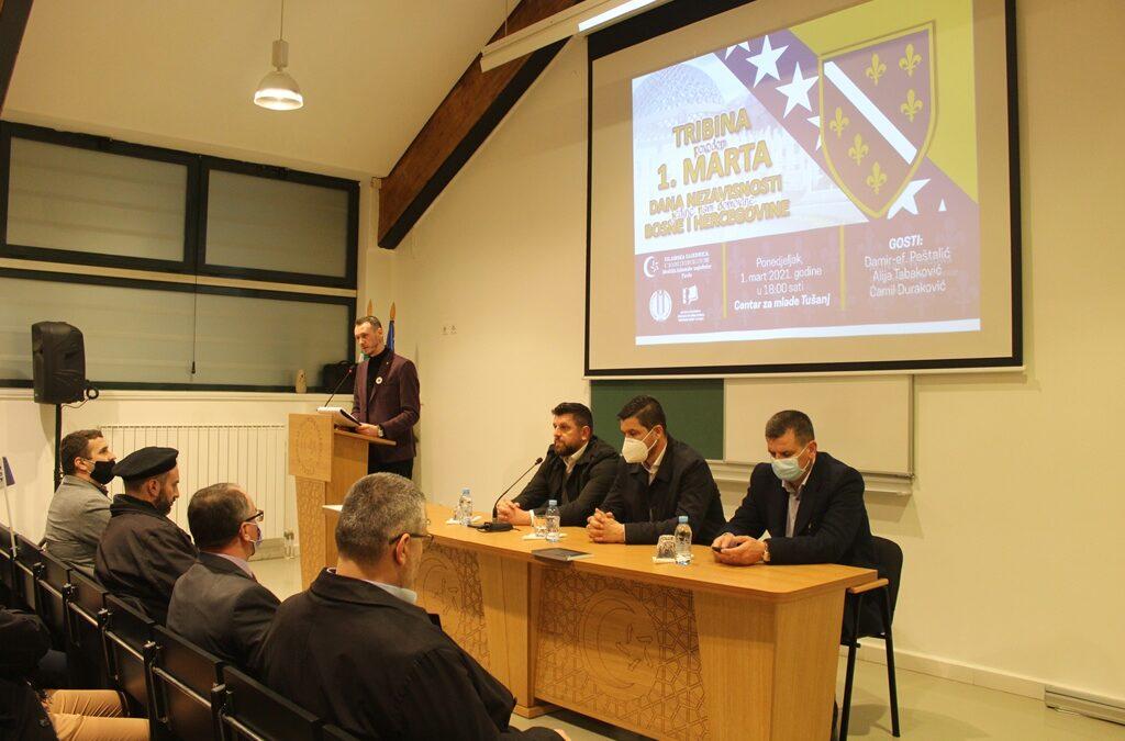 Tuzla: Tribina povodom Dana nezavisnosti Bosne i Hercegovine
