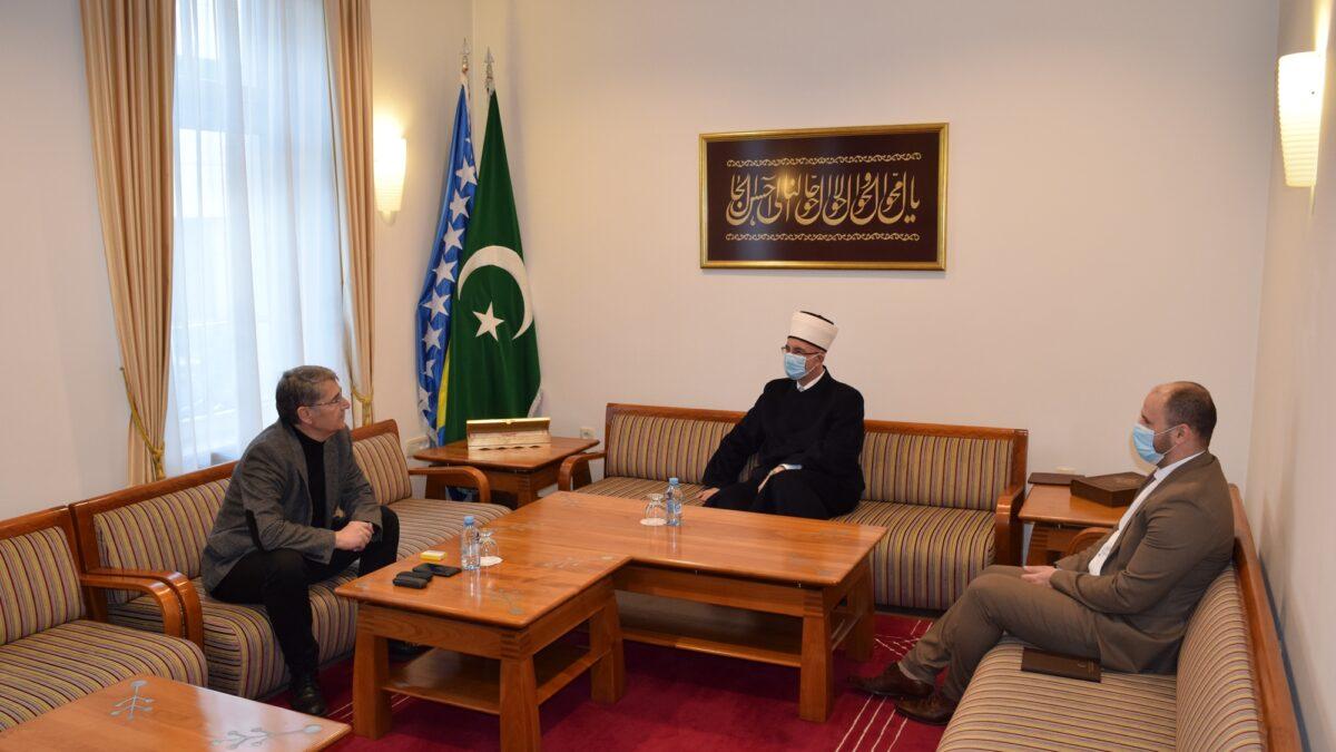 Muftiju tuzlanskog posjetio gradonačelnik Imamović