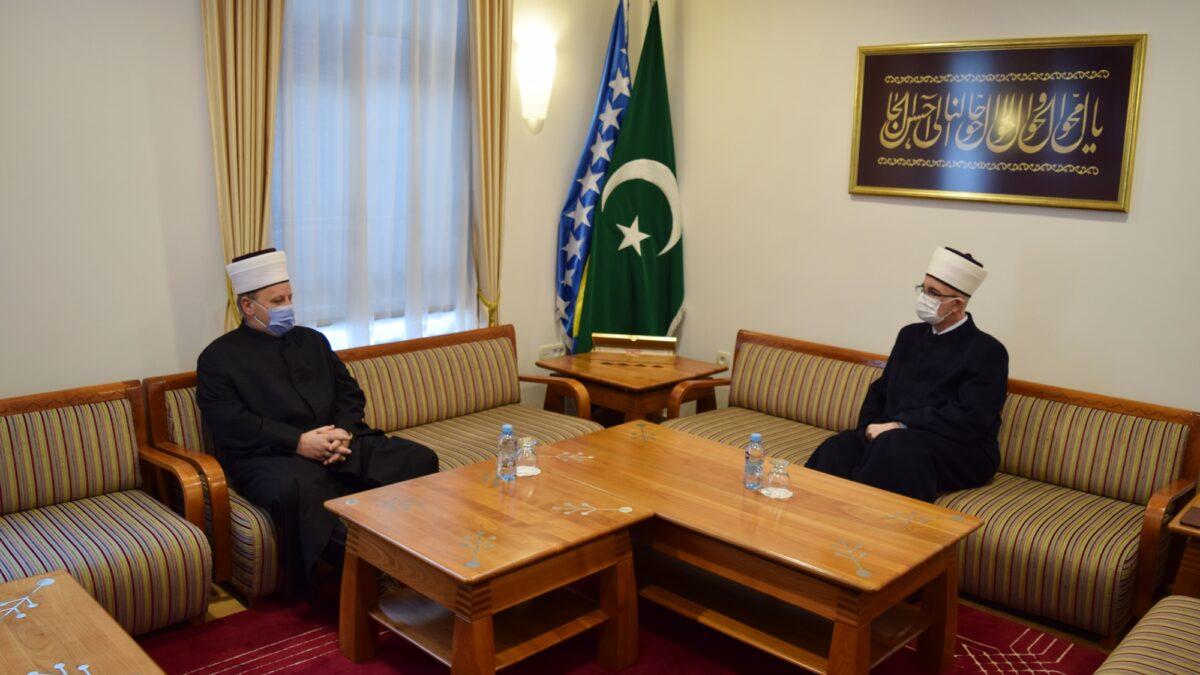 Muftiju tuzlanskog posjetio vojni muftija Hadis-ef. Pašalić