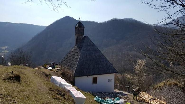 MIZ Zvornik: Obnavlja se Kušlat džamija i pristupna staza