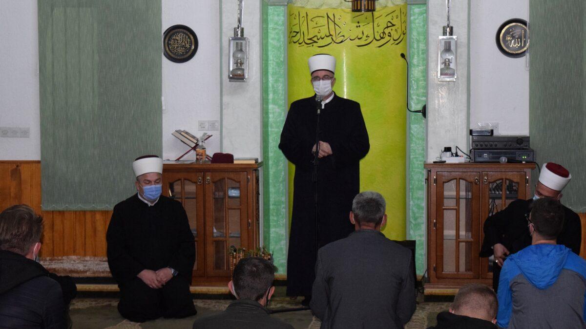 Muftija Fazlović posjetio Medžlis Islamske zajednice Čelić