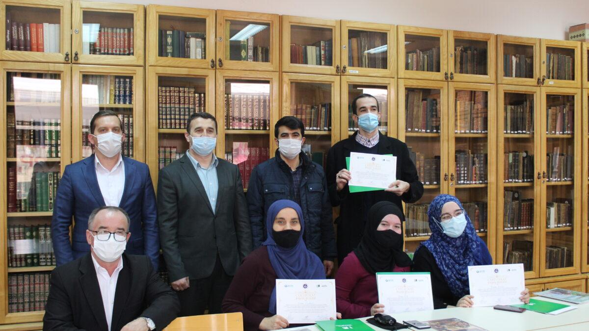 Okončan Kurs osmanskog jezika u Biblioteci Behram-beg