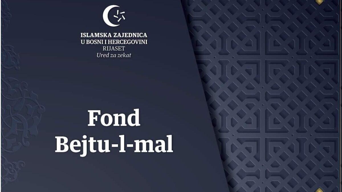 Bejtu-l-mal Islamske zajednice u Bosni i Hercegovini