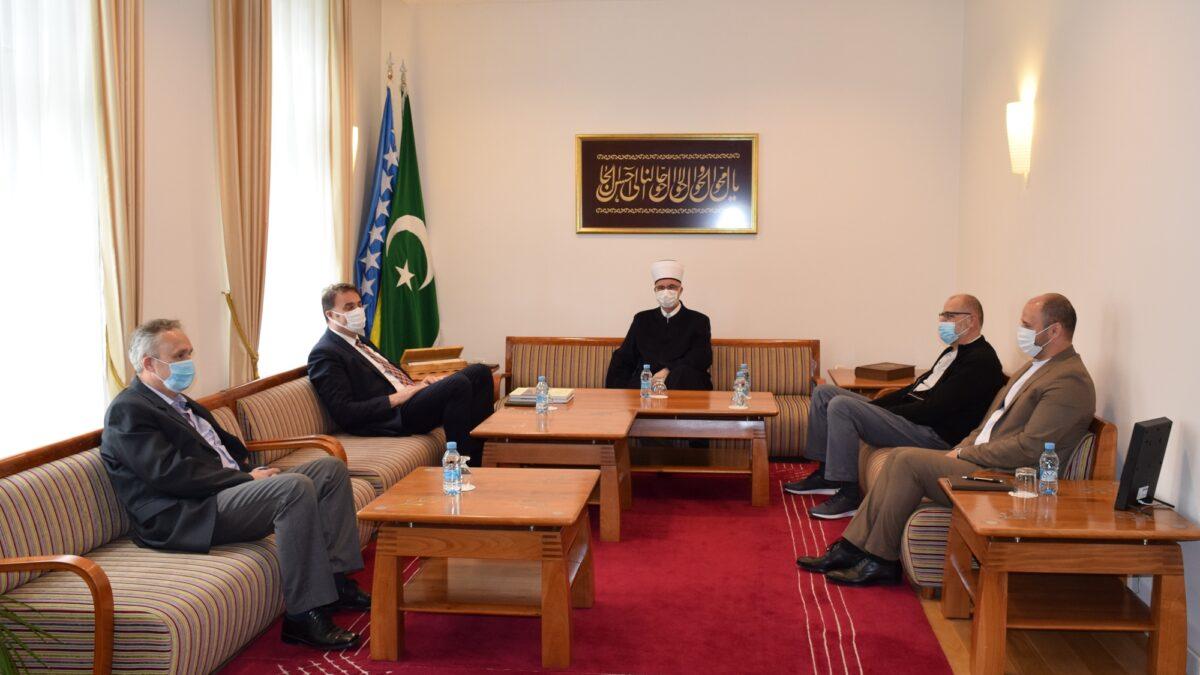 Muftija tuzlanski primio ljekare Klinike za hirurgiju UKC Tuzla