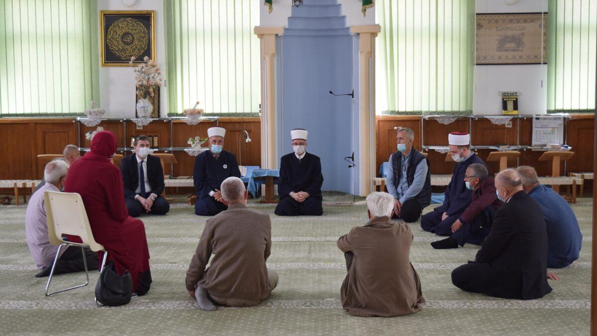 Posjeta Medžlisu Islamske zajednice Puračić