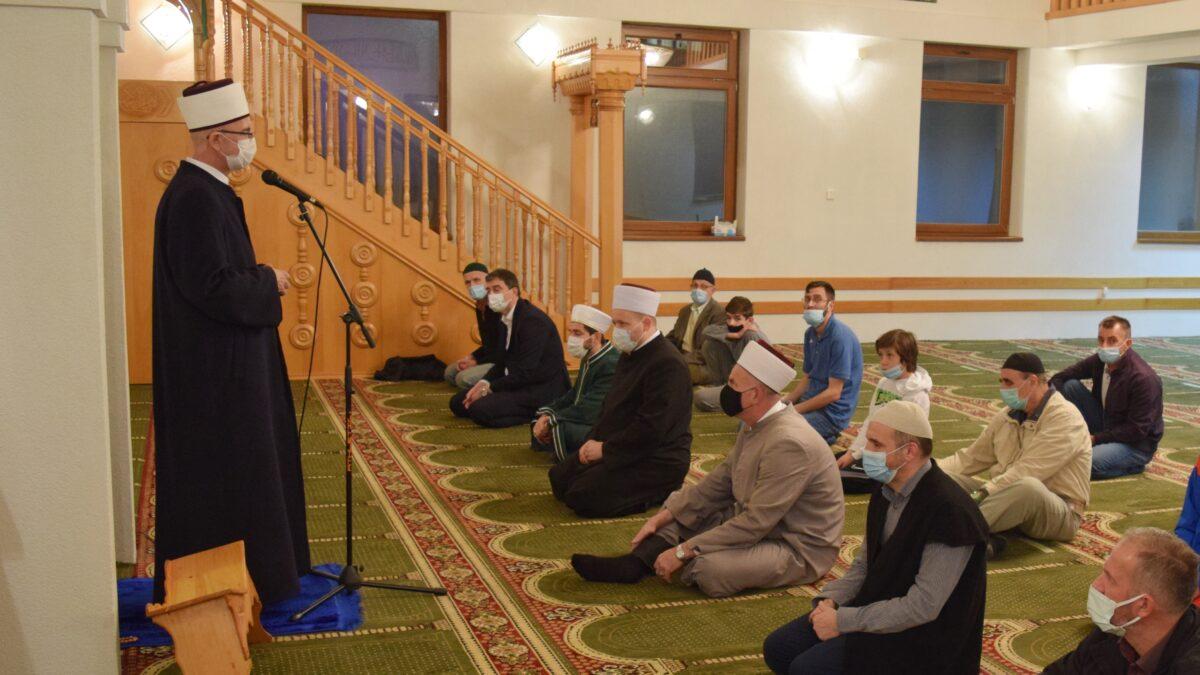 Tuzlanski i Goraždanski muftija posjetili Medžlis Islamske zajednice Zvornik