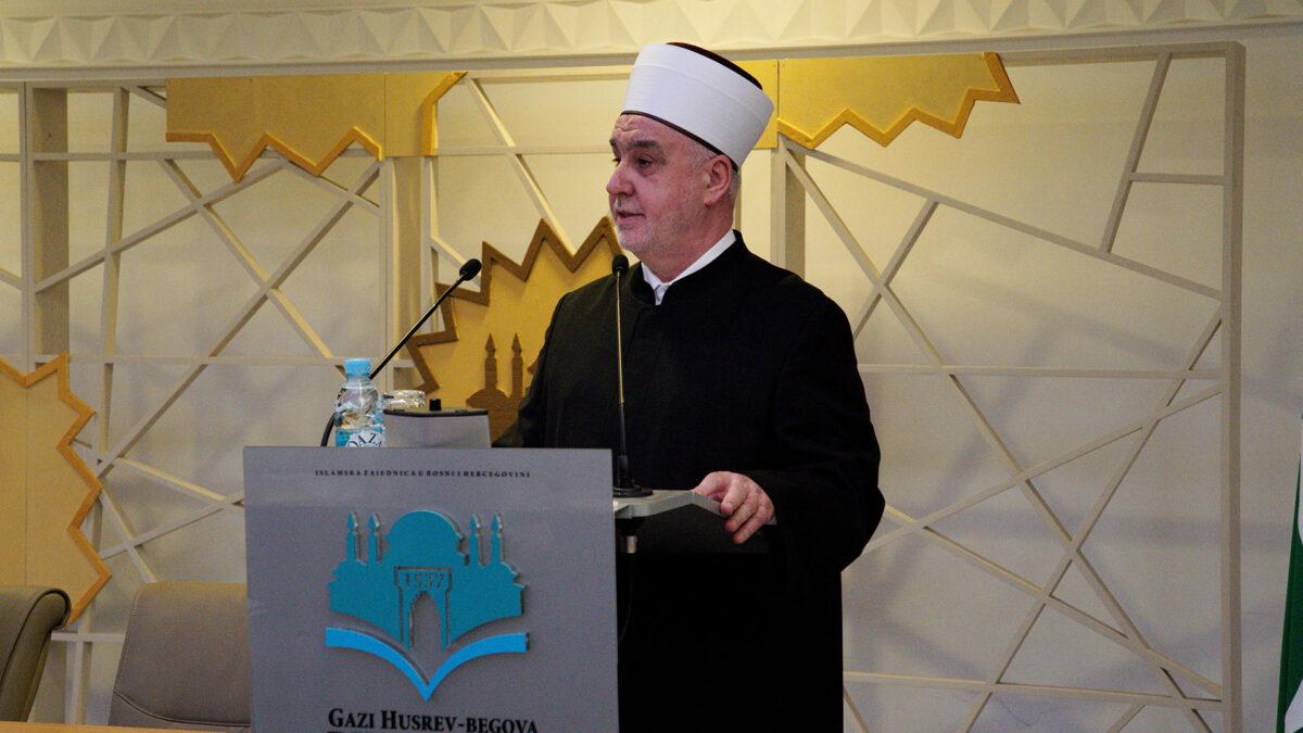 Obraćanje Reisu-l-uleme na sjednici Sabora: Zajednica se razvija i raste