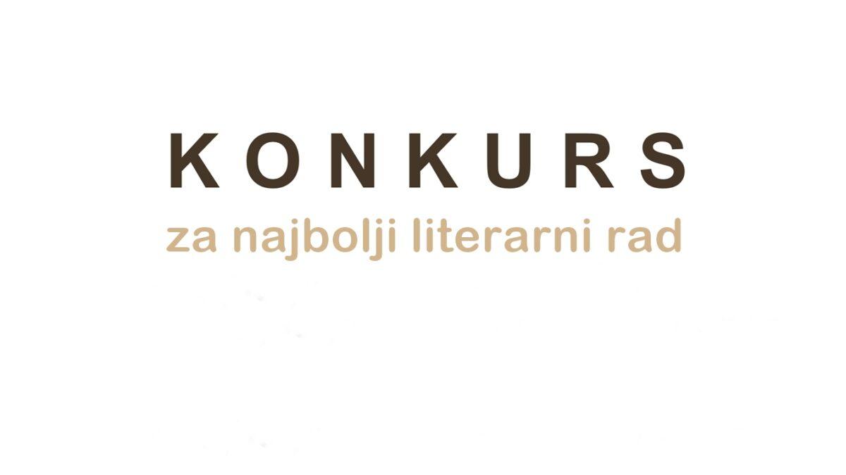 KONKURS za najbolji literarni rad