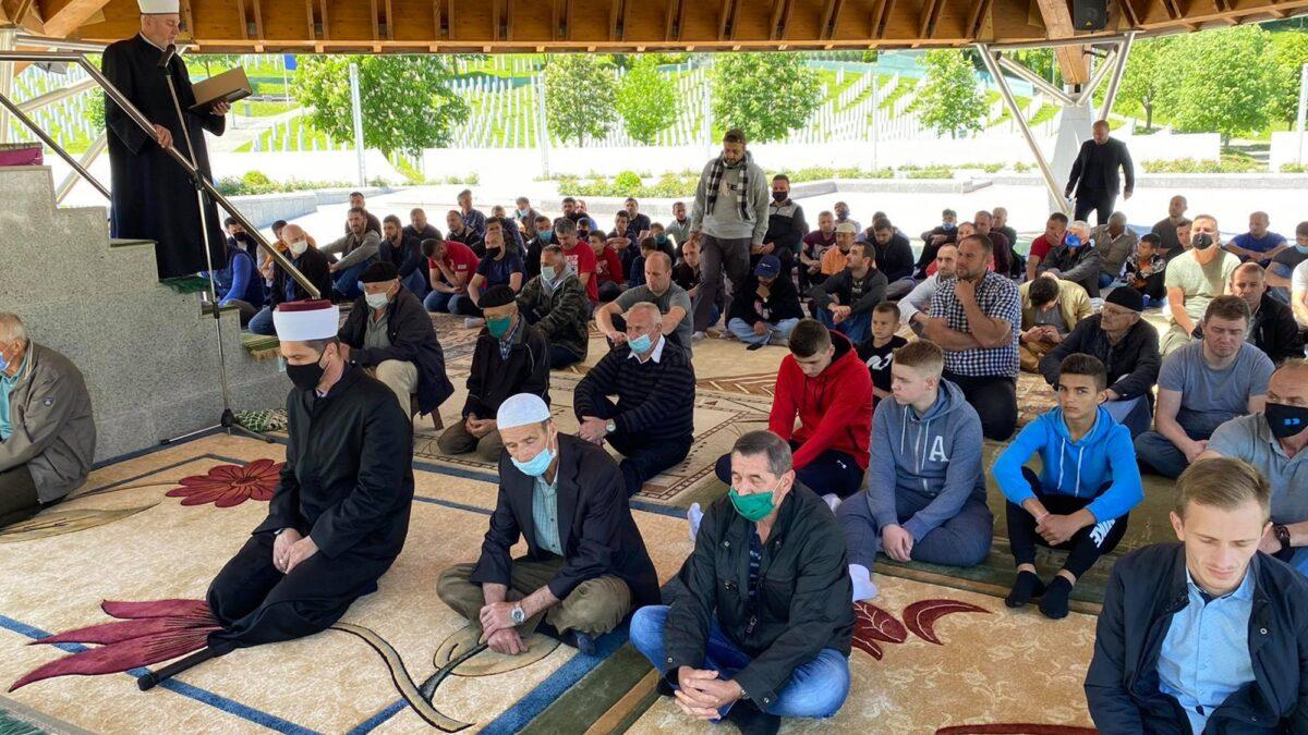 Džuma-namaz na musalli u Potočarima tokom aprila i maja