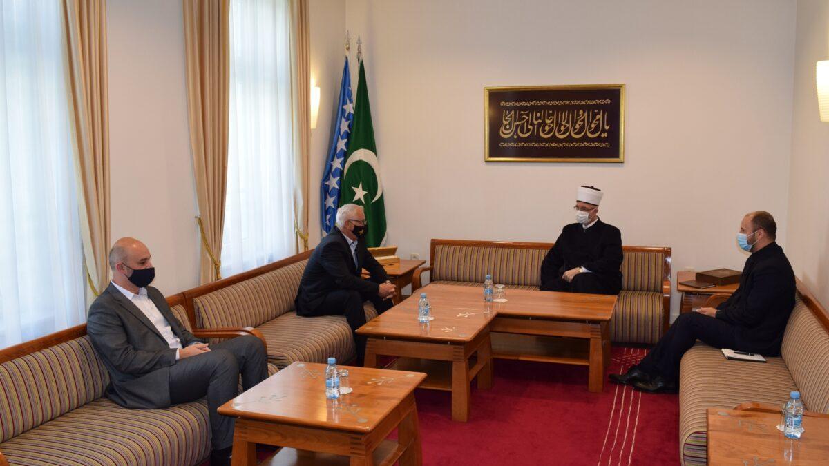 Muftija tuzlanski primio predsjednika Saveza dobitnika najvećih ratnih priznanja Federacije Bosne i Hercegovine