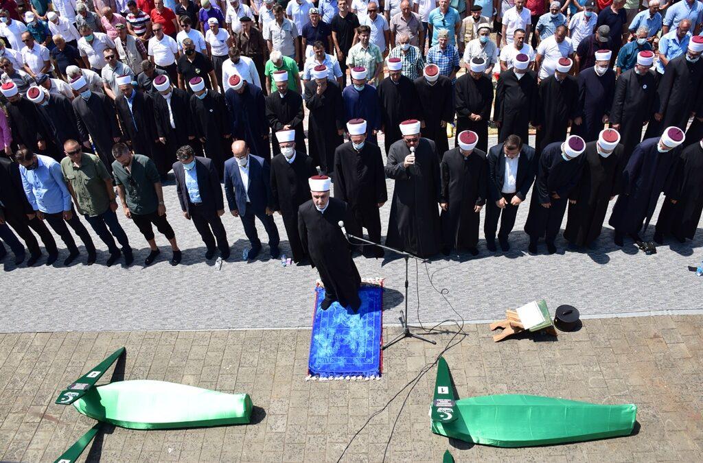 Reisul-ulema Husein-ef. Kavazović predvodio dženazu žrtvama Vlasenice