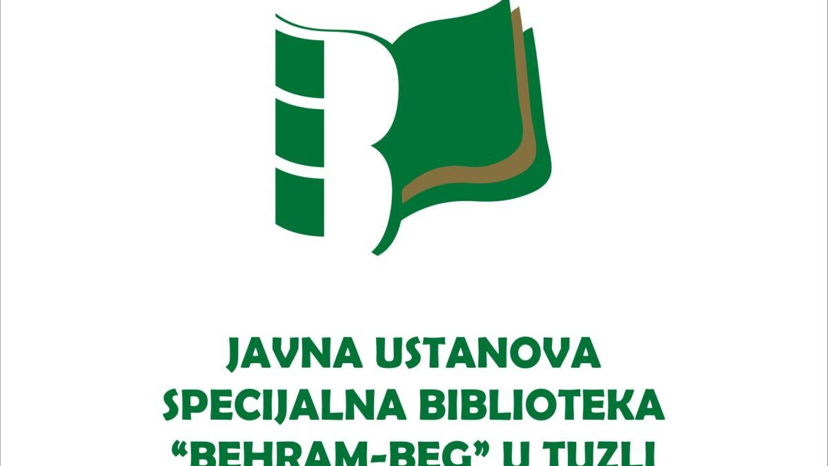 "Rezultati literarnog konkursa Biblioteke ""Behram-beg"""