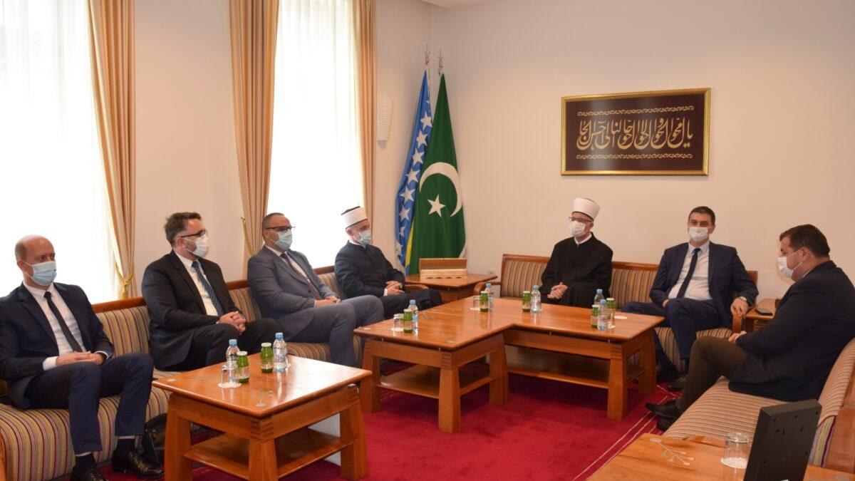 Delegacija Muftijstva bihaćkog posjetila Muftijstvo tuzlansko