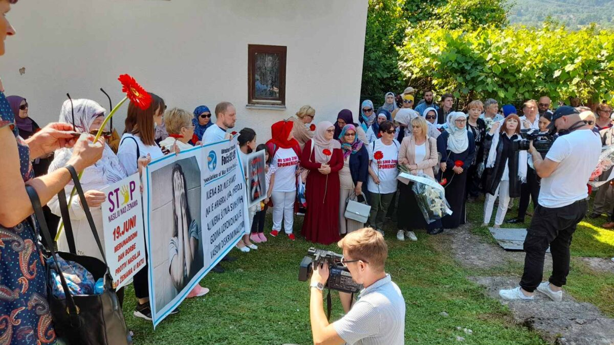 U Foči obilježen Međunarodni dan borbe protiv seksualnog zlostavljanja u ratu