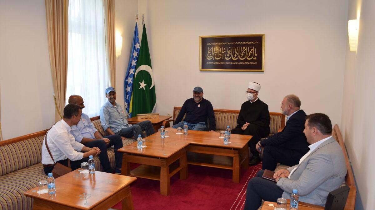 Muftija Fazlović primio predstavnike HO Rahma el-Alemijje iz Kuvajta