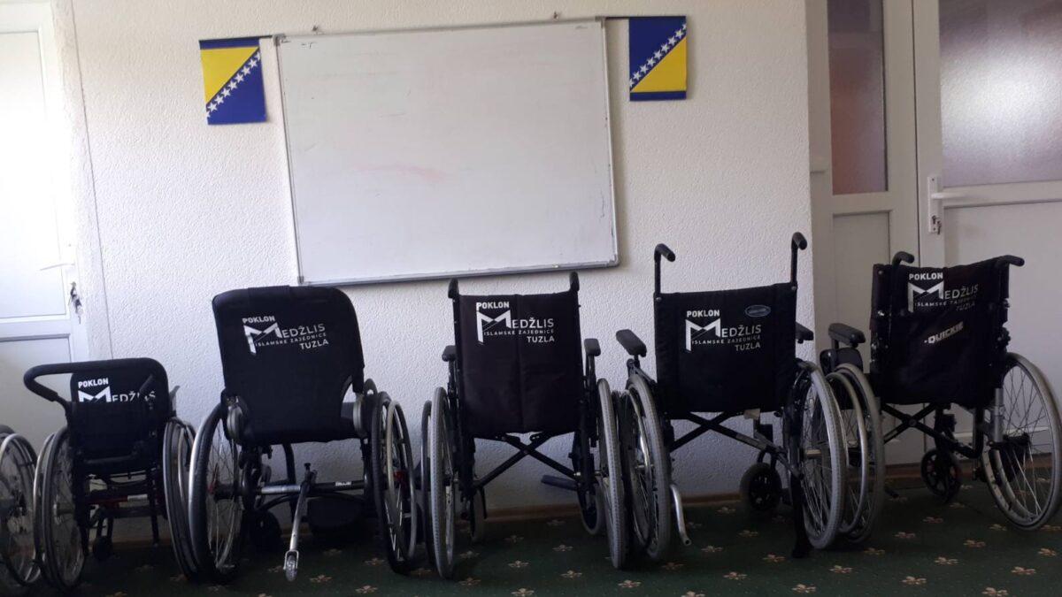 Invalidska kolica za džematlije u Tuzli
