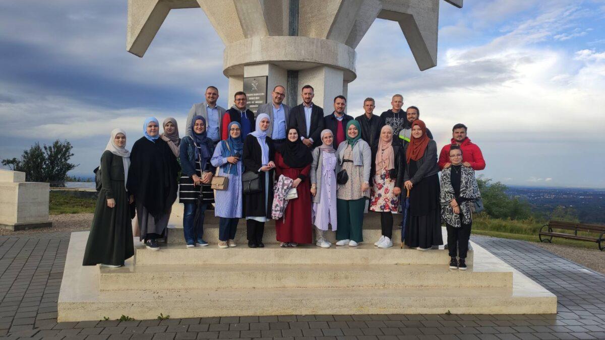 Povezivanje mladih Tuzlanskog i Zeničkog muftijstva