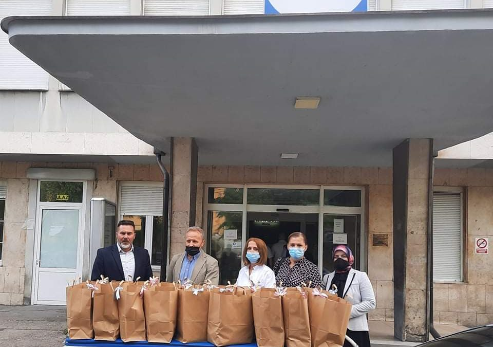 Vrijedna donacija Medžlisa Živinice klinici UKC-a Tuzla