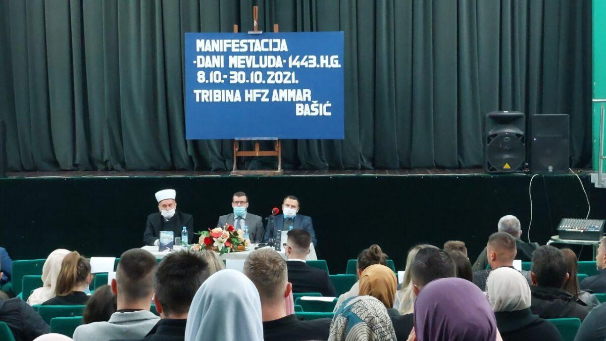 """Tribinom """"Odgoj Allahovog Miljenika"""" otvorena mevludska manifestacija u Srebreniku"""